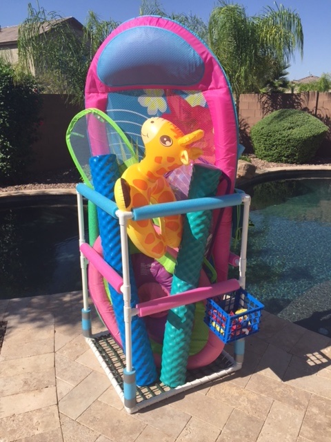Diy Pool Toy Storage Diy Average Joe